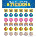 Piano Achievement Stickers