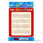 Hal Leonard Wipe Clean Board Portrait Edition CH73876