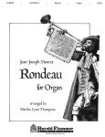 Rondeau for Organ