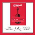 D'Addario Strings Prelude Cello Set 3/4 J10103/4M