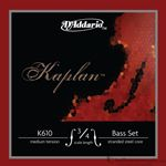 D'Addario Strings Double Bass Kaplan Series Medium Tension Set K610