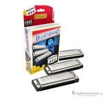 Hohner Harmonica Value Pack Bluesband Set of 3 C/G/A