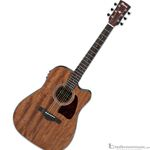 Ibanez AW54CE Mahogany Cutaway Artwood Series Acoustic-Electric Guitar with Open Pore Finish