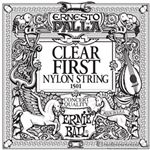 Ernie Ball String Guitar 1st Nylon Clear 1501