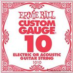 Ernie Ball String Guitar .010 Steel 1010S