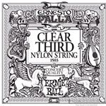 Ernie Ball String Guitar 3rd Nylon Clear 1503