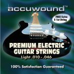 Accuwound Strings Guitar Light AC010EL