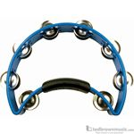 Rhtythm Tech Tambourine Nickel Jingles  Blue RT1040