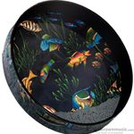 "Remo Ocean Drum 16"" Fish Graphics ET-0216-10"