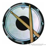 Aim Gifts Coaster Round Drum Practice Pad 29845