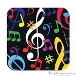 Aim Gifts Coaster Music Symbols Square 29844