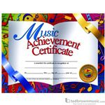 "Music Treasures Award Certificate ""Music Achievement"" 900068"