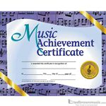 "Music Treasures Award Certificate ""Music Achievement"" 900024"