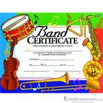"Music Treasures Award Certificate ""Band Certificate"" 900030"