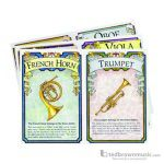 Music Treaures Game Learning Cards Set Musical Instruments 830066