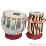 Mid-East TBSS Banjira Standard Tabla Set with Tuning Hammer & Bag