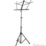 On-Stage SM7122BB Black Compact Folding Music Stand with Bag