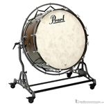 Pearl Bass Drum Concert Symphonic 36 x26 Walnut Lacquer