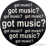 "Aim Gifts Mouse Pad ""Got Music?"" 40024"
