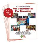 Fun Foundations for the Recorder Student 5PK