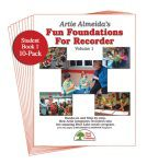 Fun Foundations for the Recorder Student 10PK