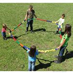 Bear Paw Creek Stretchy Band 18 Feet Up to 22 Children BPC2005