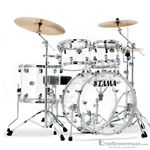 Tama VC52KRZSCI Silverstar 4-Piece Shell Kit with Free Snare Drum