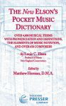 New Elson's Pocket Music Dictionary