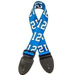 Tetherax Sodo Series Sky Blue 12th Man Guitar Strap