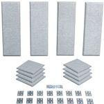 Primacoustic London 8  Room kit for up to 100 sq. ft. (9.3 sqm) Grey