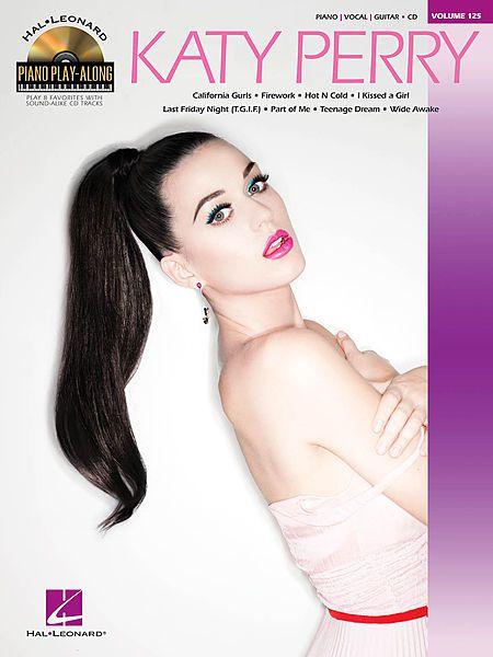Katy Perry Piano Playalong BKCD