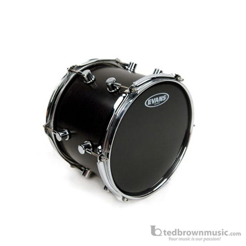 "Evans 10/"" Resonant Black Drum Head TT10RBG"