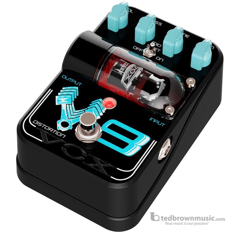 Vox TG1V8DS Tone Garage Tube Driven V8 Distortion Effect Pedal