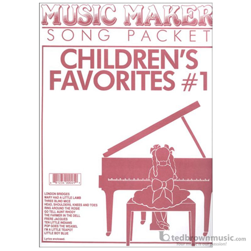 Melody Maker Music Maker Childrens Favorites #1 MM25