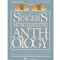 Singer's Musical Theatre Anthology Mezzo-Soprano Volume 3 Book/CDs Alto