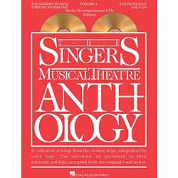 Singer's Musical Theatre Anthology Baritone/Bass Volume 4 Book/CDs