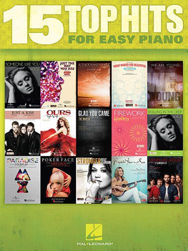 15 Top Hits for Easy Piano