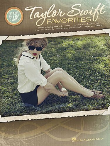Taylor Swift Favorites for Big Note Piano