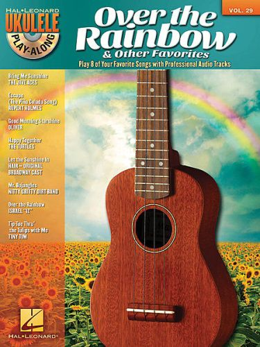 Over the Rainbow & Other Favorites Ukulele Playalong Book/CD