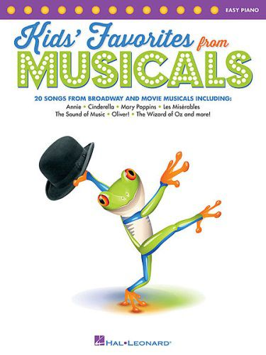 Kids' Favorites from Musicals for Easy Piano