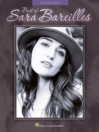Best of Sara Bareilles Big Note Piano