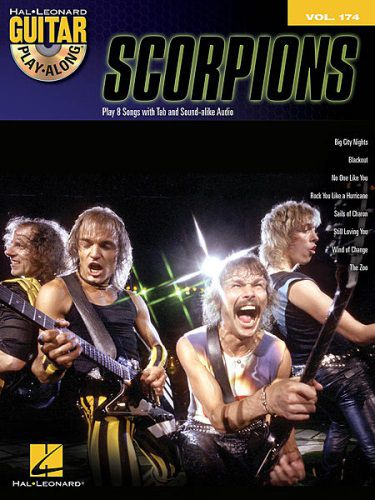 Scorpions Guitar Play-along