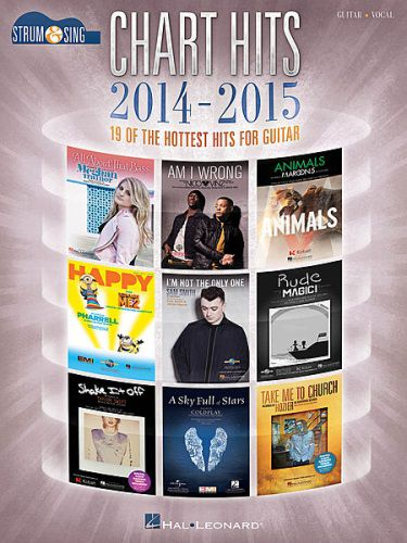 Chart Hits of 2014-2015 Strum and Sing Guitar/Vocal