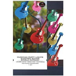 Hal Leonard Electric Guitar Single Cutaway Party Lights
