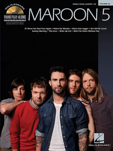 Maroon 5 Piano Playalong BKCD