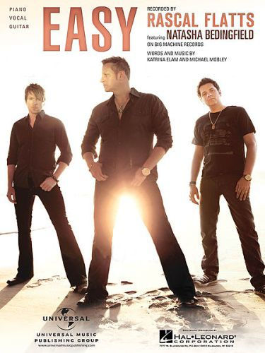 Easy (Piano/Vocal/Chords) Rascal Flatts