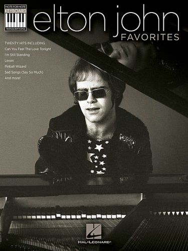 Elton John Favorites Note for Note Keyboard Transcriptions