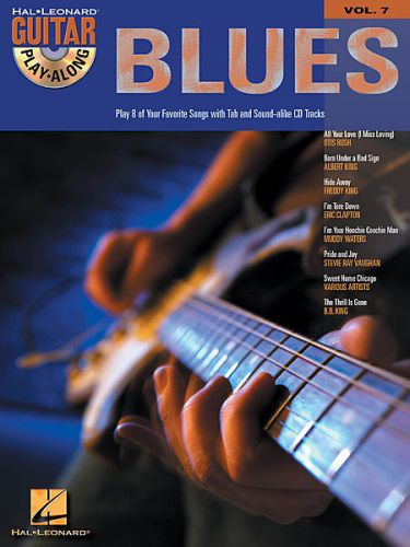 Blues Guitar Playalong BK/CD