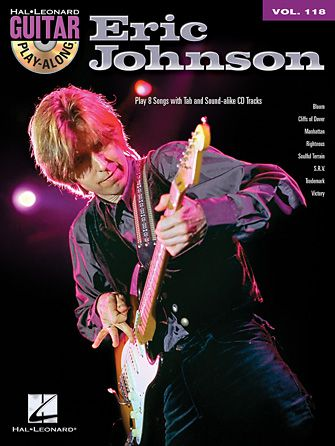 Eric Johnson Guitar Playalong Book/CD