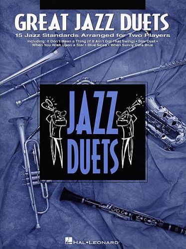 Great Jazz Duets Flute Book